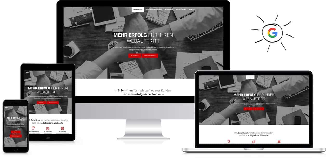 Responsive Webdesign Michael Paszenda